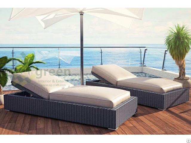 Luxury Sunbed With Sunbrella Fabric