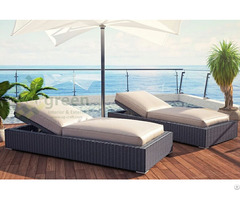 Luxury Sunbed With Sunbrella Fabric