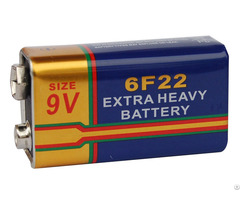 Extra Long Life Super Heavy Duty Battery 6f22 9v