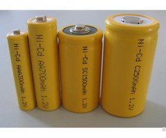 Aa 1 2v Ni Cd Rechargeable Battery