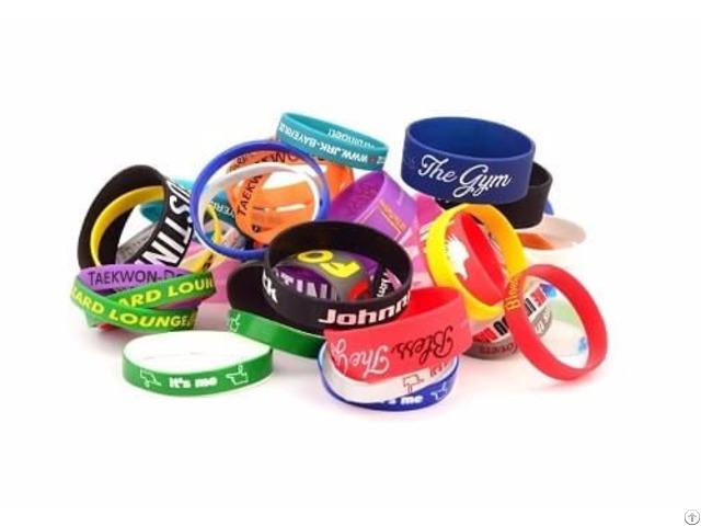 Custom Silicone Wristbands Wholesale