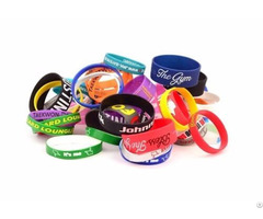 Custom Silicone Wristbands Wholesale