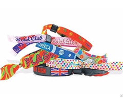 Custom Fabric Wristbands Wholesale