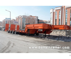 Lowbed Semi Trailer Extendable
