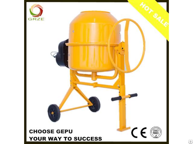 120l Electric Portable Concrete Mixer