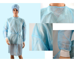 High Quality Sterile Disposable Standard Surgical Gown With Ce Iso Fda