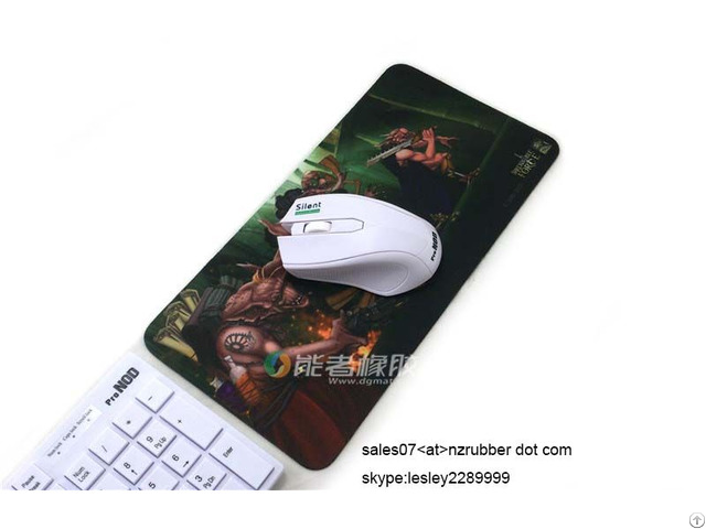 Wholesale Latest Design Digital Printing Customized Gaming Mouse Pad