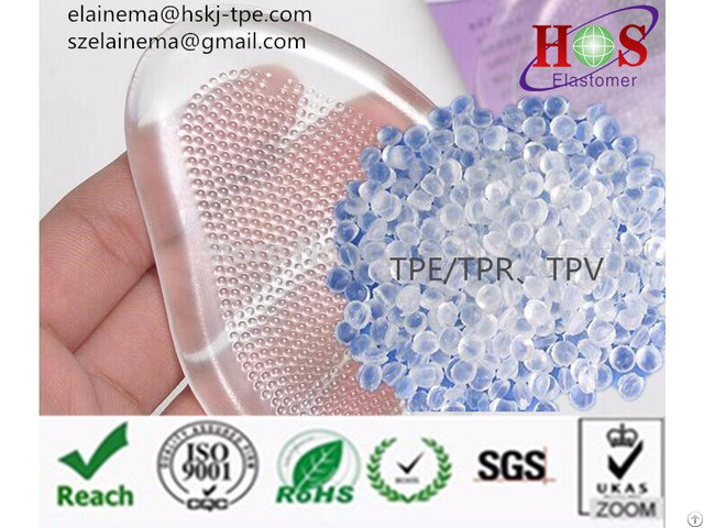 Free Sampled High Quality Thermoplastic Elastomer Tpr Granules Tpe Material For Shoe Insole