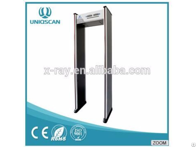 Good Price Security Chec Equipment Walk Through Metal Detector With 6 Zones