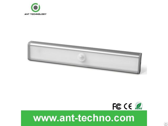 Led Bright Wireless Pir Motion Sensor Light Cabinet Wardrobe Drawer Lamp