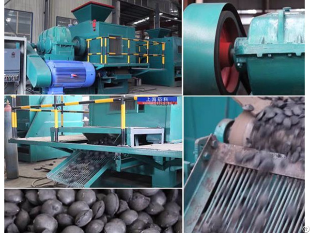 Dynamo And Rotor In Charcoal Briquetting Machine