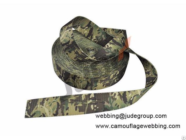 Camouflage Webbing