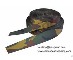 Woodland Camo Webbing
