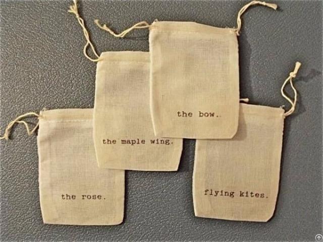 Cotton Tea Bag Pouch