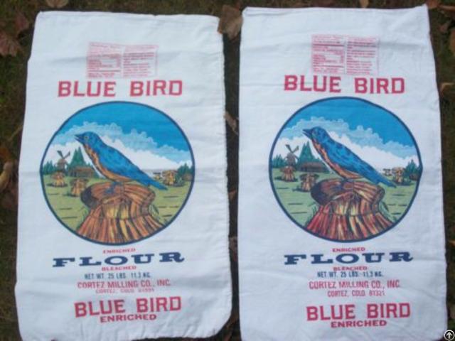 Cotton Flour Bag Grain Sack Food Packing Bags