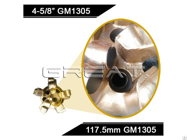 Coal Mining Use Diamond Drill Bit And 7 Blades Pdc Cutters