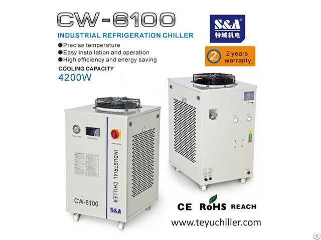 S And A Water And Air Cooled Chillers With Refrigeration Compressor