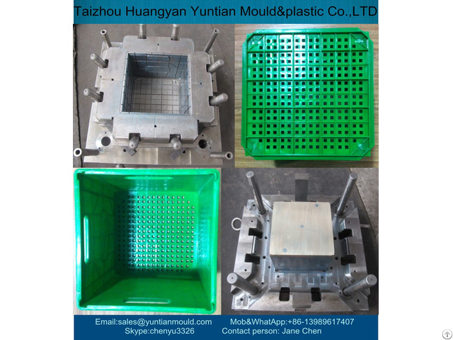 China High Quality Plastic Injection Crate Mould Manufacturer