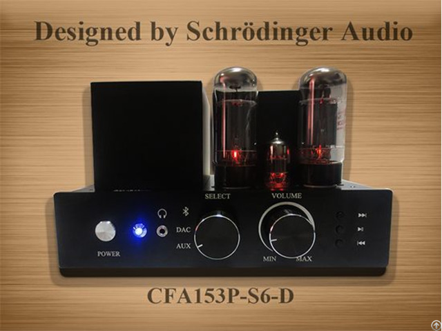 Desktop Vacuum Tube Amplifier With Bluetooth Dac And Subwoofer Connection