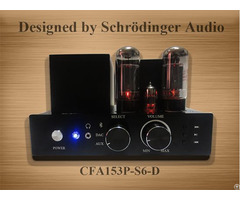 Aluminum Chassis Compact 6l6 Vacuum Tube Amplifier