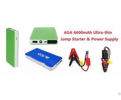 Chinese Manufacturer Of Mini Car Jump Starter 6600mah Thin Power Bank