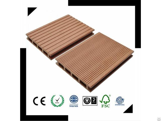 Waterproof Anti Uv Wpc Decking Eco Friendly Laminated Floor