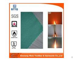 Hot Production En1149 3 99% Cotton 1% Carbon Anti Static Fr Fabric