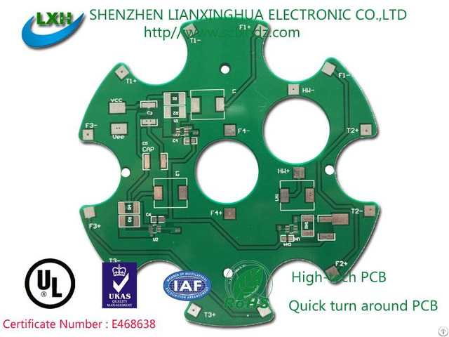 Single Side Pcb Board For Consumer Electronics