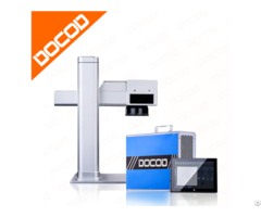 Docod Portable Mini2 Fiber Laser Marking Machine Good For Steel Aluminum Plastic Coated Materials