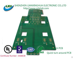 Double Side Printed Circuit Board For Electronic Parts