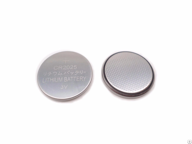 Cr2025 Lithium Button Cell Battery 3v