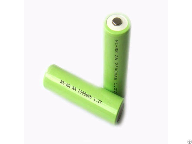 Nimh Rechargeable Batteries Aa 2500mah 1 2v