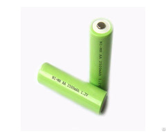 Nimh Rechargeable Batteries Aa 2500mah 1 2v