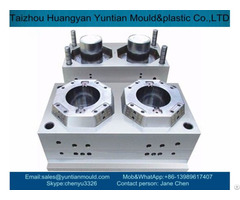 China Custom 2 Cavities Plastic Bucket Mould