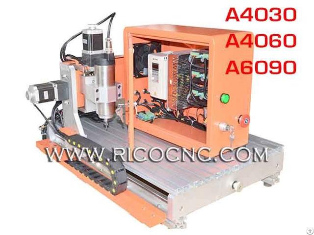 Desktop Cnc Router Diy 60x90 800w Kit Machine A4030