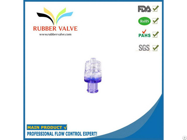 One Way Luer Micro Plastic Air Medical Check Valve