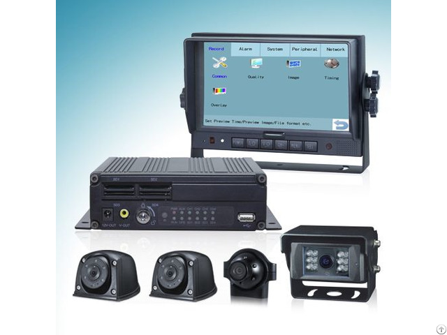Touch Control Dvr System With H 264 Digital Video Recorder