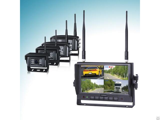 7inch 2 4ghz Digital Wireless Camera System
