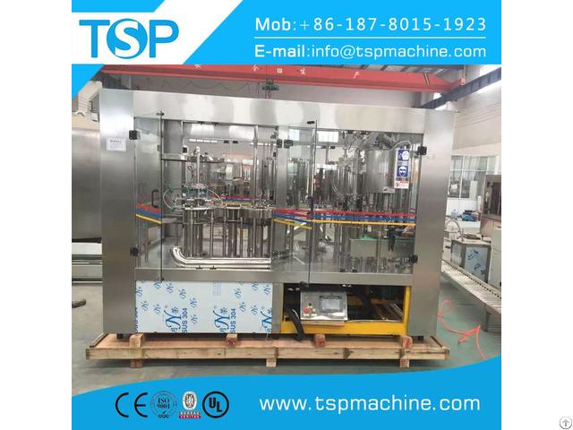 Full Automtic Mineral Water Bottling Machine 3 In 1 Monoblock