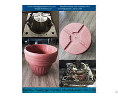 Plastic Injection Flower Pot Mould