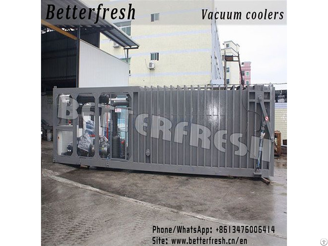Pallets Vacuum Cooler For Better Fresh Products