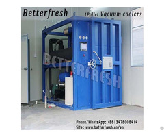 Betterfresh Agricuture Refrigeration Vegetable Vacuum Cooler For Fresh Products