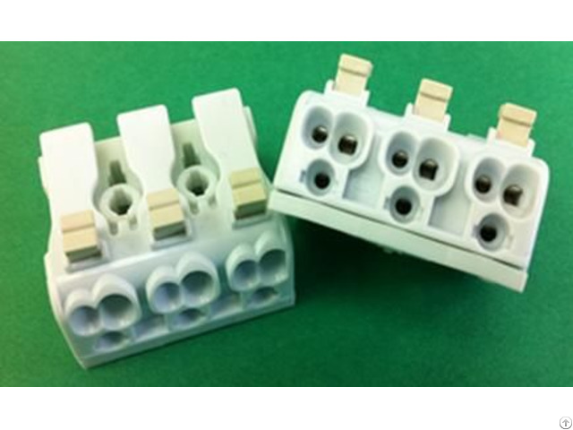 Luminaire Pushwire Lighting Connector