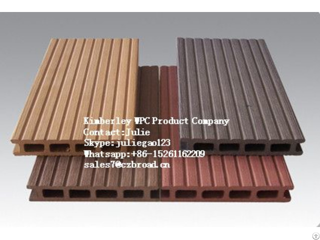 Top Selling Morden Decking Tiles Waterproof Wpc Outdoor Flooring
