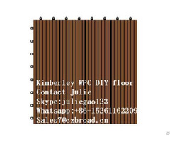 Made In China Parquet Flooring Composite Diy Decking