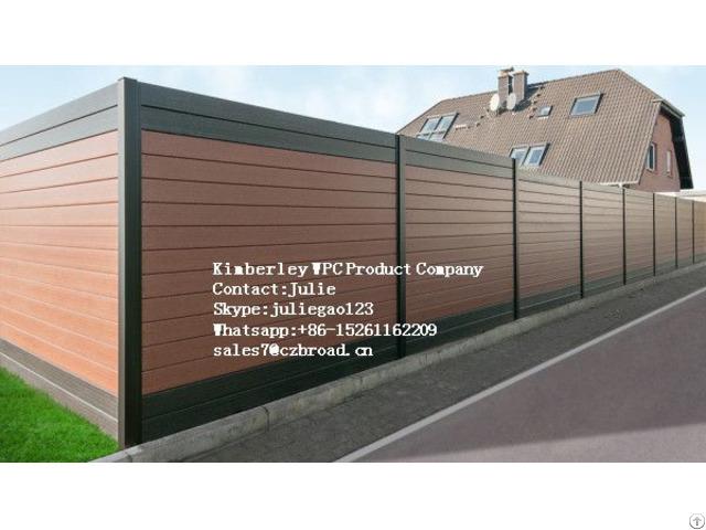 Wood Plastic Composite Decking Platform Aiti Uv New Polywood