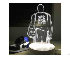 3d Illusion Acrylic Led Balloon Night Light Amazing Decoration Lamp