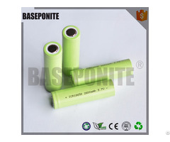 Baseponite Lithium Iron Battery 18650 3 7v 2600mah For Powerbank