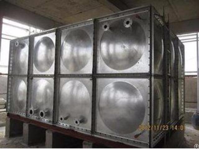 Hot Dip Galvanizing Water Storage Tank