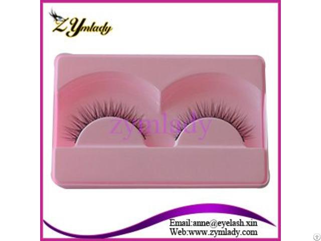 Tipped Eyelashes